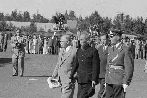 President Ho Chi Minh visited The Union of Soviet Socialist Republics in 1955. ( Photo: Archives)