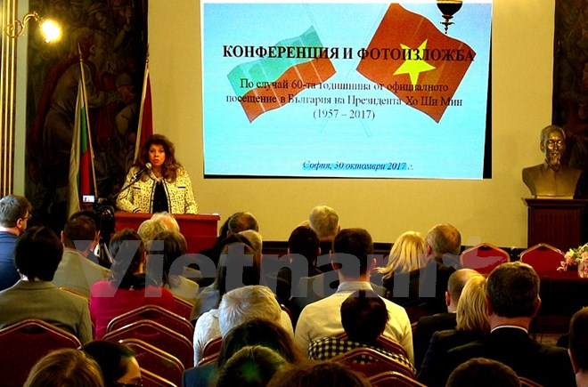 Vice President of Bulgaria Iliana Iotova speaking at the workshop (Photo: VNA)