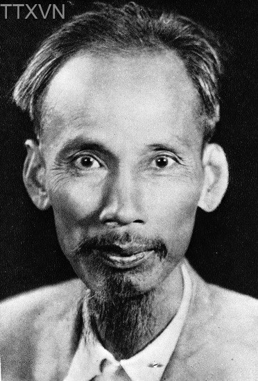 President Ho Chi Minh in 1945