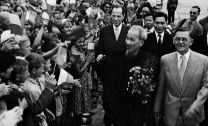 Documentary photos on President Ho Chi Minh and the world