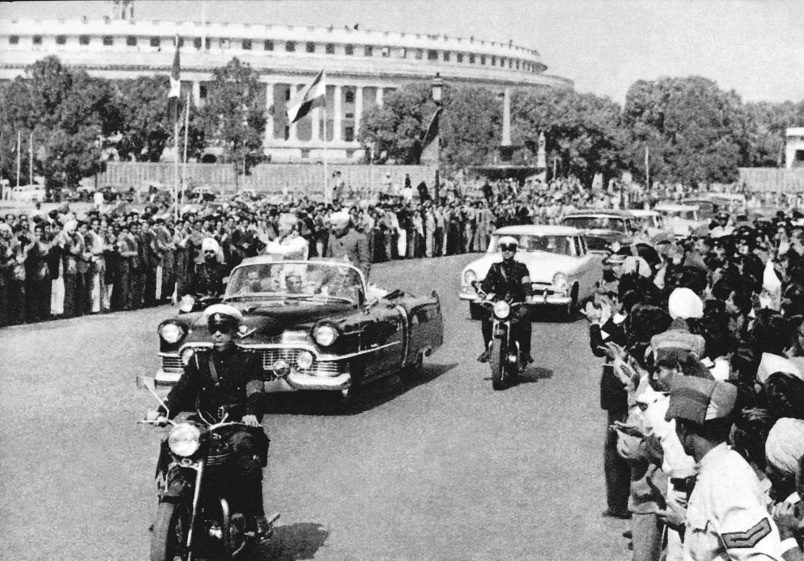 The people of the Capital city Delhi welcomed President Ho Chi Minh during his friendship visit to the Republic of India (February 4th, 1958)