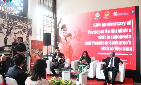 Special friendship between President Ho Chi Minh and President Sukarno honoured