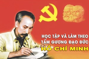 Long An intensifies studying and following Uncle Ho's teachings