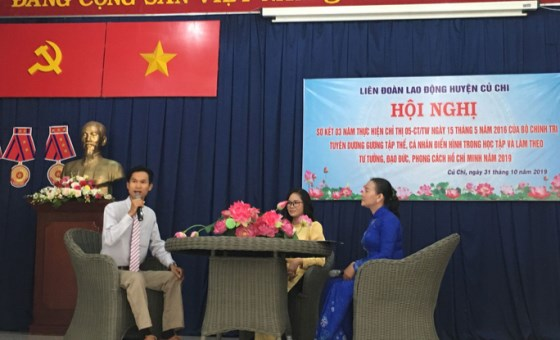 Summarizing 3 years of implementing Directive 05 in Ho Chi Minh city