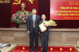 Vinh Phuc honors outstanding performers of Uncle Ho's teachings