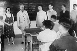 President Ho Chi Minh with the healthcare sector