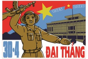 Southern liberation and national reunification marked in posters