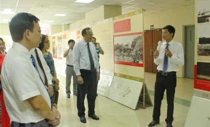 Documents and photos on Uncle Ho on display in Ho Chi Minh City