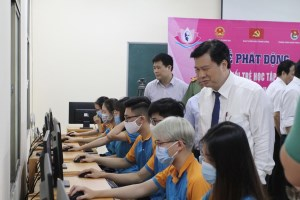 Millions of youngsters join contest on studying and following Uncle Ho's example